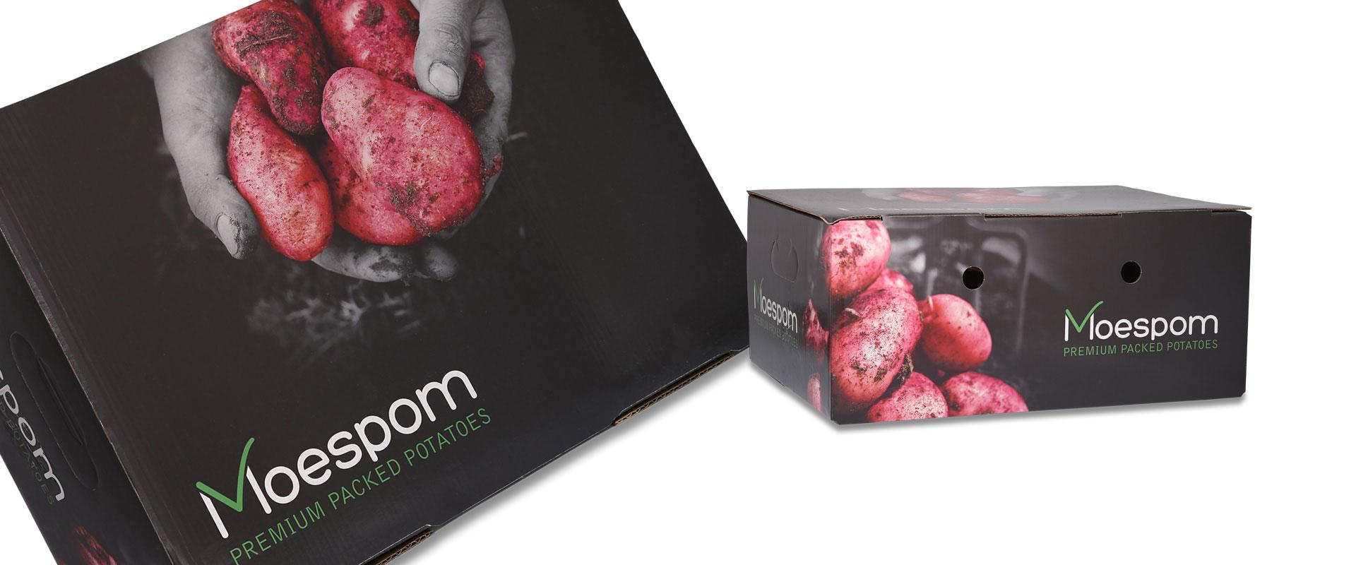 Moespom Paper boxes for potatoes